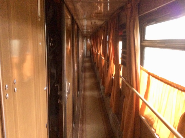 Armenia Train Interior