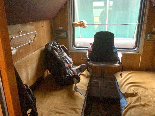 Armenia Train Sleeping Compartment