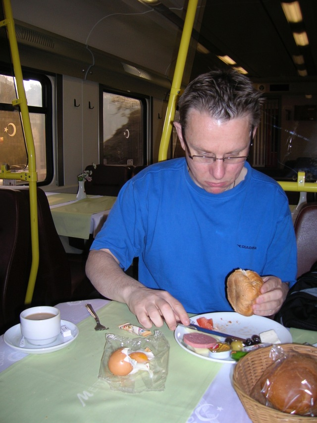 Breakfast Turkish Train