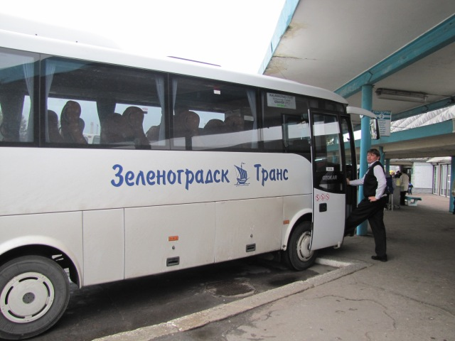 Gdansk to Kaliningrad Bus