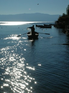 Lake Ohrid Fisherman