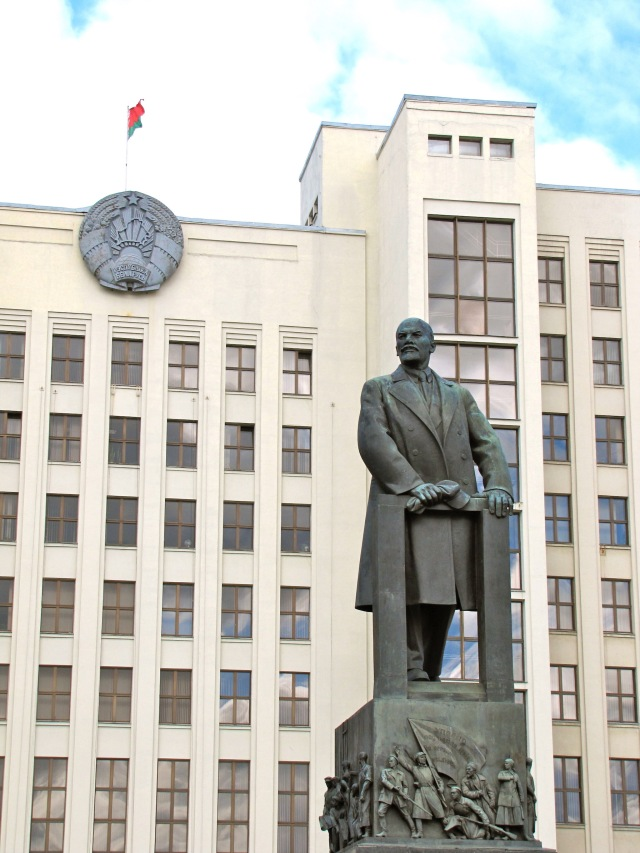 Lenin Statue Minsk