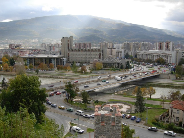 Modern Bridge Skopje