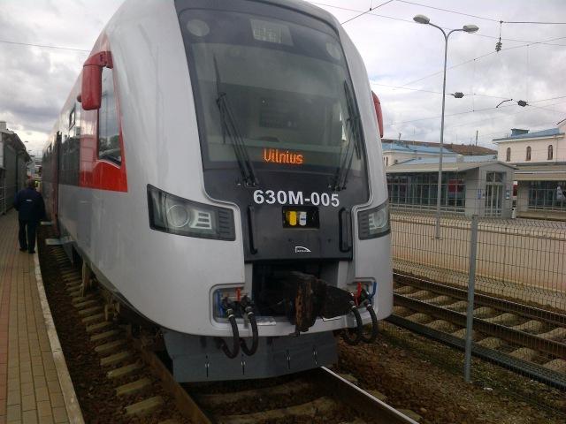 Train Minsk to Vilnius