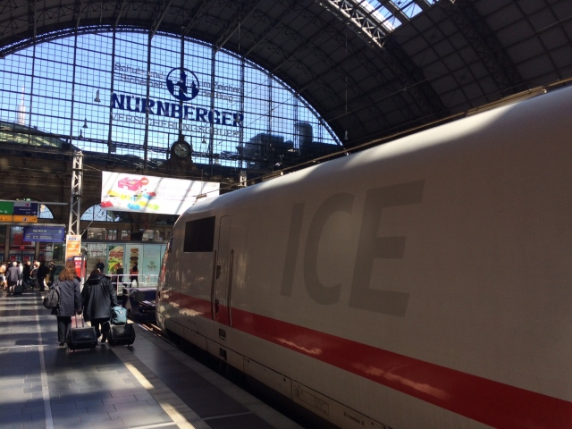 ICE Train Frankfurt
