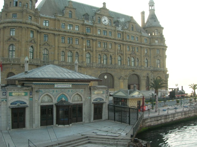 Haydarpasa Station Istanbul Exterior