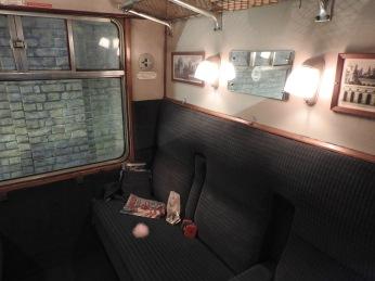 Hogwarts Express Carriage Interior
