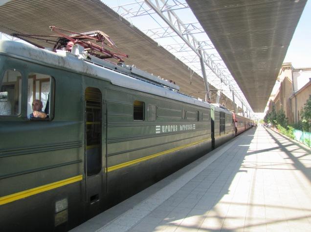Yerevan to Tbilisi Train