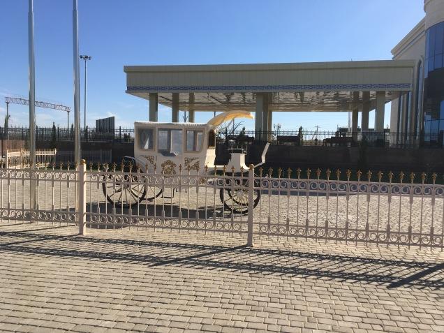 Carriage Awaits, Khiva Train Station