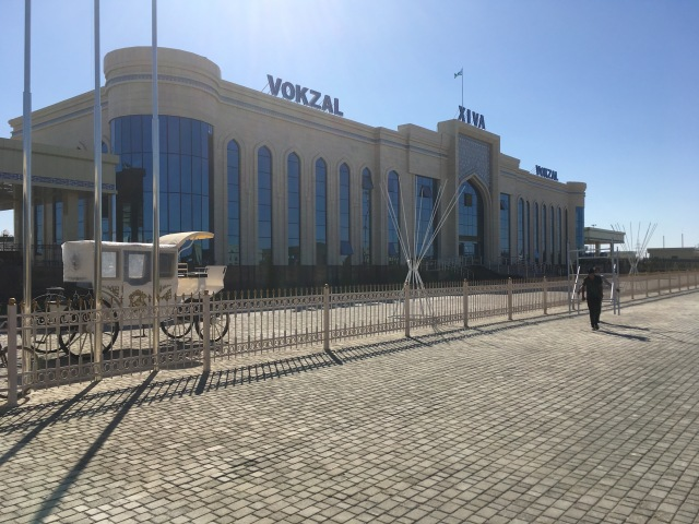New Khiva Train Station1