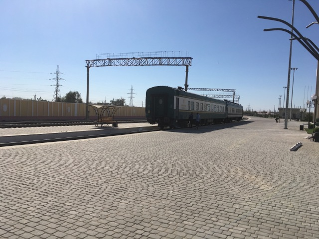 New Khiva Train Station2