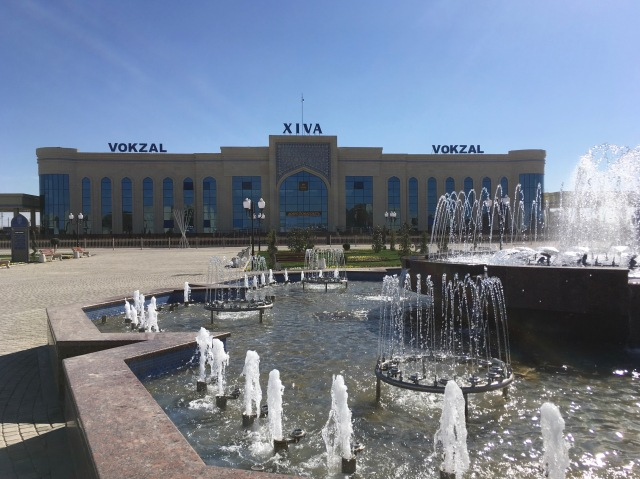 New Khiva Train Station3