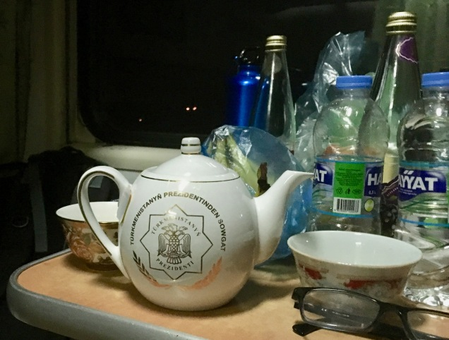 Tea on Turkment Train
