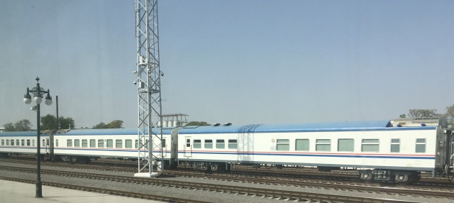 Turkmen Train Carriages