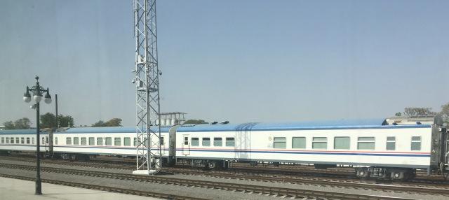Turkmen Train Carriages