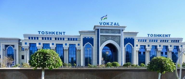 Tashkent Train Station, Uzbekistan