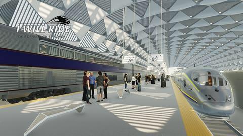 New Train Station, California