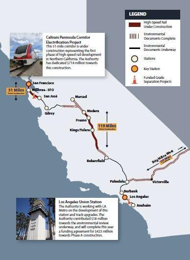 California High Speed Rail Route