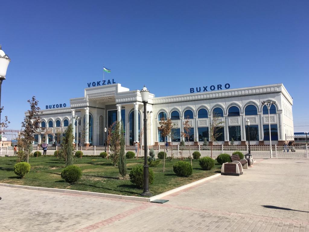 Bukhara Train Station, Uzbekistan