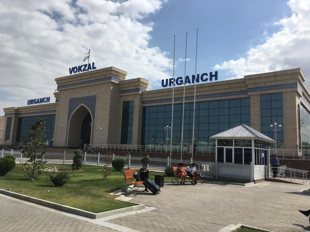 Urganch Train Station, Uzbekistan